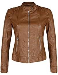 Abbigliamento donna Amazon MECshopping giacca Milano ecopelle it rYSwSq8f