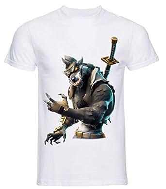 T-Shirt Stampa Skin PRO'!!! PERSONALIZZA la Tua Maglietta(11/12 Anni, Manny)