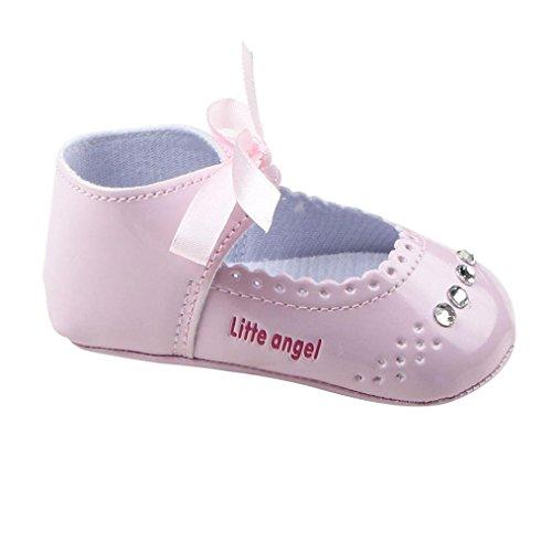 Jamicy® Kleinkind Mädchen Krippe niedliche Casual Sneaker Baby Kleinkind Schuhe Rosa