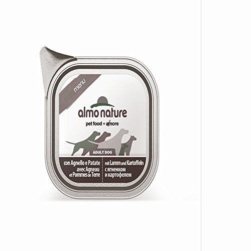 ALMO NATURE Daily menu bio agnello e patate umido cane gr. 100