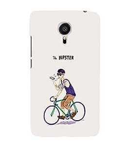 EPICCASE Hipster rider Mobile Back Case Cover For Meizu MX 5 (Designer Case)