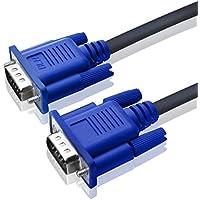 SVGA VGA MM mâle vers mâle câble d'Extension-Bleu
