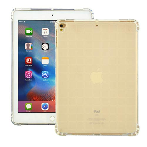 iPad Hülle für iPad Air iPad Air 2 iPad 9,7 Zoll iPad 2017 2018 Hülle TPU Slim Sleek iPad Case, A01-Transparent - Air 4-screen-ersatz Ipad