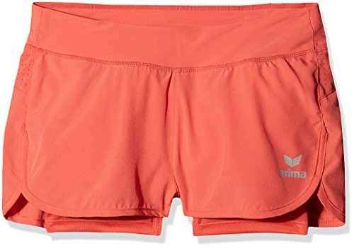 erima Mädchen Masters 2-In-1 Shorts, Hot Coral, 128