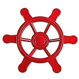 Swing King Piraten-Schiffslenker Steuerrad Spielturm Klein 21,5 cm Rot 2552015
