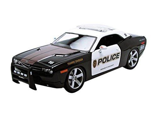 maisto-31365bk-w-dodge-challenger-concept-car-policia-1-18