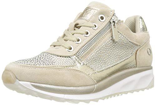 XTI 49011, Zapatillas Mujer, Beige, 40 EU