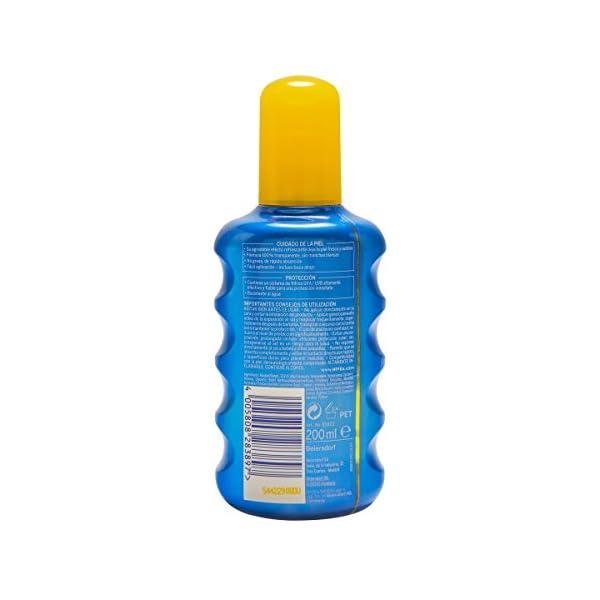 NIVEA SUN Protege & Refresca Spray Solar FP30 (1 x 200 ml), spray con protección UVA/UVB, protección solar alta…