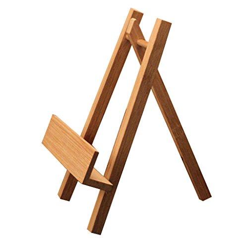 FITYLE Tellerständer Tellerhalter Bücher Foto Teller Ständer Halter, aus Bambus