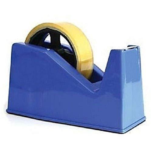Bold Klebebandabroller für kleine und große Klebestreifen, 25 mm, 33 m oder 66 m, Blau