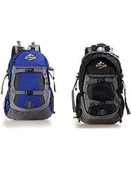Nueva hembra ultralight mochila mochila impermeable deportes al aire libre escalada bolsa de hombro , black