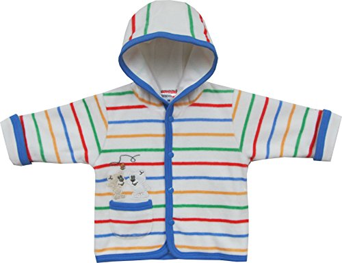 Schnizler Unisex Baby Jacke Kapuzenjacke Nicki Spaß Bärchen, Gr. 62, Mehrfarbig (original 900)
