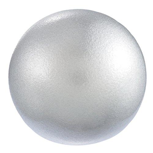 Souarts Perles Carillon pour Boule Bola Maternite Grelot Mexicain Couleur Argent Gris 18mm