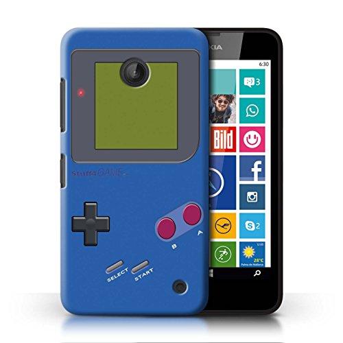 Stuff4® Hülle/Case für Nokia Lumia 635 / Dunkelblau Muster/Videogamer/Gameboy Kollektion