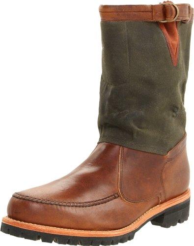 Timberland Boot Company Gyw Tackhead Boots Stiefel Stiefeletten Herren Schuhe Dunkelbraun / Grün