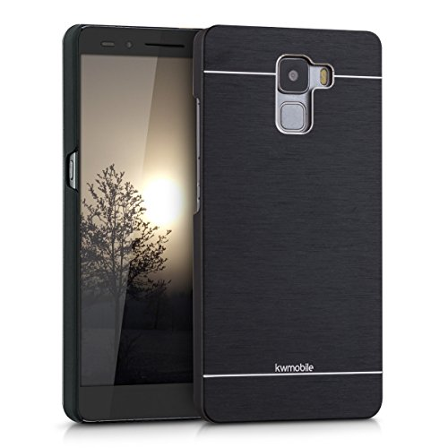 kwmobile Huawei Honor 7 / Honor 7 Premium Hülle - Aluminium Handy Hardcover - Cover Case Schutzhülle für Huawei Honor 7 / Honor 7 Premium