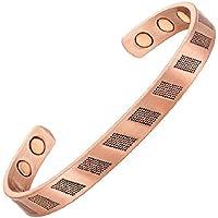 Magnetisches Kupferarmband mit Magneten - Texturierten preisvergleich bei billige-tabletten.eu