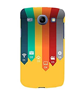Fiobs Designer Back Case Cover for Samsung Galaxy Core I8260 :: Samsung Galaxy Core Duos I8262 (Wifi Electronics Cool Mobile Gadgets )