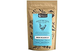 Organic Free-Range Chicken Bone Broth Homestyle - Naturally-Occurring Collagen, Vitamins, & Minerals - 12-Hour Slow-Cook For Max Nutrients, Digestion, Joint Health, & Stress Relief
