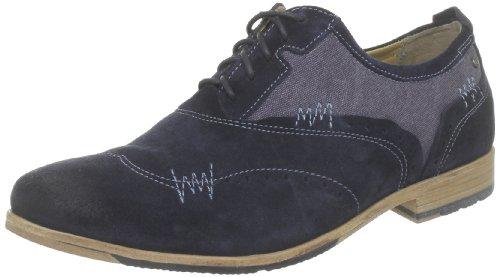 Rockport France Ph Brogue, Chaussures à lacets homme Bleu (Navy/Capt. Blue)