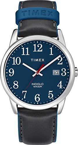 Timex Mixte Adulte Analogique Automatique Montre avec Bracelet en Cuir TW2R62400