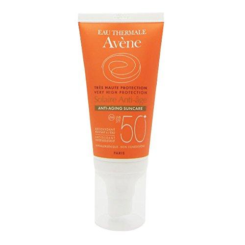 Foto de Avene Solar AntiEdad Spf 50+ Antioxidante Sin Perfume 50 Ml