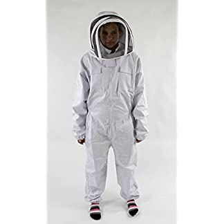 Easipet Beekeepers Bee Suit in 5 sizes Heavy Duty Cotton/Polyester (Small) 3