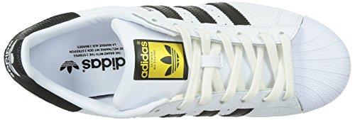 adidas Herren Superstar Animal Sneakers Weiß (Ftwr White/Core Black/Gold Met.)