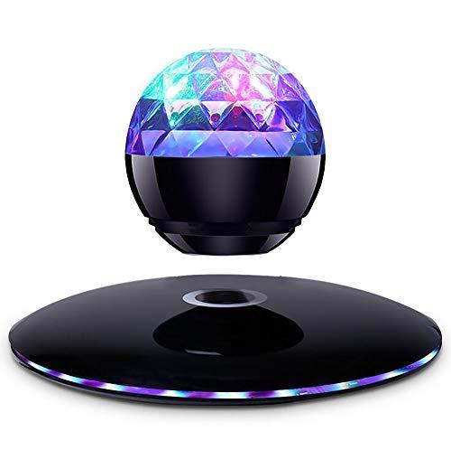 BUY-TO Schwimmendes Licht Drahtlose Lautsprecher Tragbarer Bluetooth-Player Weihnachtsgeburtstagsgeschenk,Black