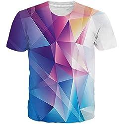Camiseta Geometrica de colores