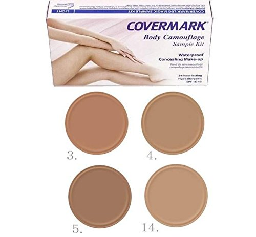 Covermark, Leg Magic Sample Kit, tester correttore in crema per gambe (etichetta in lingua italiana non garantita)