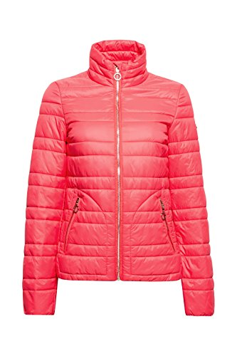 edc by ESPRIT Damen Jacke Rot (Coral Red 640)