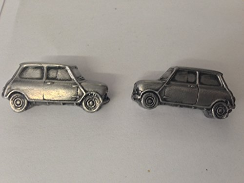 Morris Mini Cooper MK13D Manschettenknöpfe Classic Car Zinn Effekt Manschettenknöpfe ref144