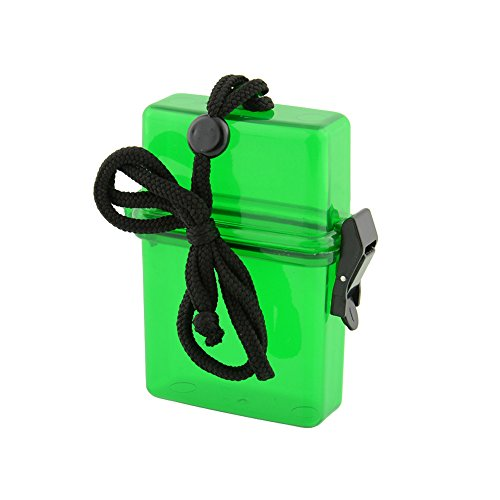 Forfar Waterproof storage case Outdoor Swim Waterproof Plastic Container Storage Case Key Money Cellphone Box Card Holder Colorful Multicolor Sports Useful NEW