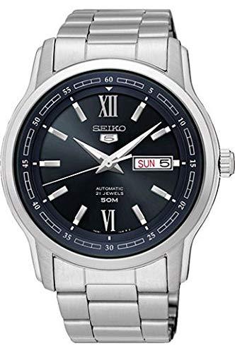 Seiko Analog Blue Dial Men's Watch - SNKP17K1