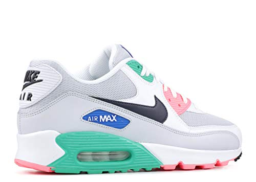 Nike Hombre Air Max 90 Essential Leather Textile Obsidian