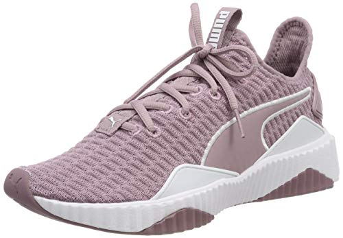 Puma Defy Wn's Scarpe da fitness Donna, Viola (Elderberry-Puma White), 36 EU (3.5 UK)