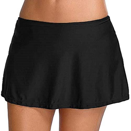Leslady Mujer Shorts de baño Falda Bikini para Mujer Bragas Pantalones Cortos