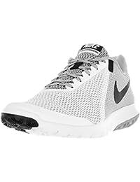 Nike Men's Flex Experience RN 4 White/Black/Wolf Grey Running Shoe - 9. 5 D(M) US