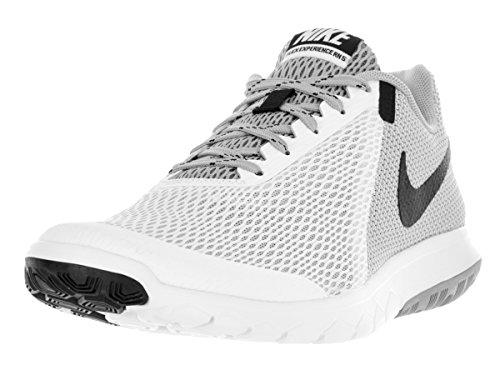 Nike Flex Experience Rn 5, Chaussures de Running Entrainement Homme Blanco (Blanco (white/black-wolf grey))
