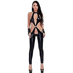 Disfraz de Body Negro Clubwear