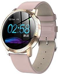 junchengdg Smartwatch Damen, Fitness Armband mit Herzfrequenz-Überwachung, Schrittzähler und Weibliche physiologische Funktion, IP67 wasserdicht Kompatibel mit Android und IOS