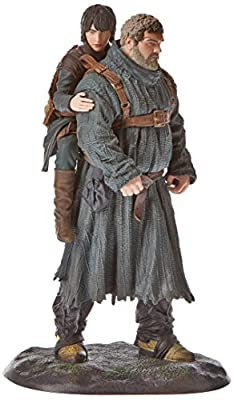 Hodor and Bran Stark Action Figure - HBO Game of Thrones Dark Horse Collectable Toy