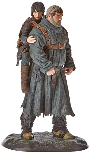 Game Of Thrones TV Series Hodor and BRAN, Figure 19 cm ,, Standard (Dark Horse DKHHBO26340)