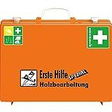 SÖHNGEN 360104 Erste-Hilfe-Koffer Holzbearbeitung aus Kunststoff mit PRÜFPLAKETTE