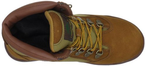 Timberland 6-Inch Leather and Fabric Field Boot Rund Wildleder Stiefel Md Brn