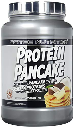 Scitec Nutrition Functional Food Protein Pancake, Kokosnuss-Weiße Schoko, 1036g -