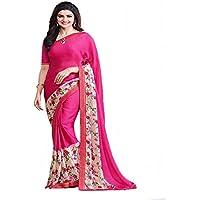 usura georgette net designer lavoro originale Bollywood etnico indiano da sposa Sari Saree sexy 8332