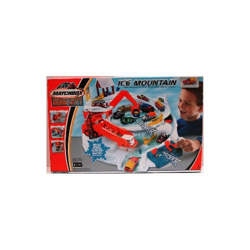 MATTEL Matchbox Pista Ice-Mountain Mister Boy Piste Tr ..