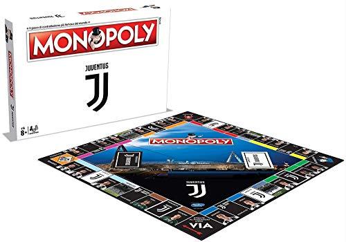Winning Moves Spiel - Monopoly Fußball-Team - Juventus Edition Kollektion Farbe Weiß 35262